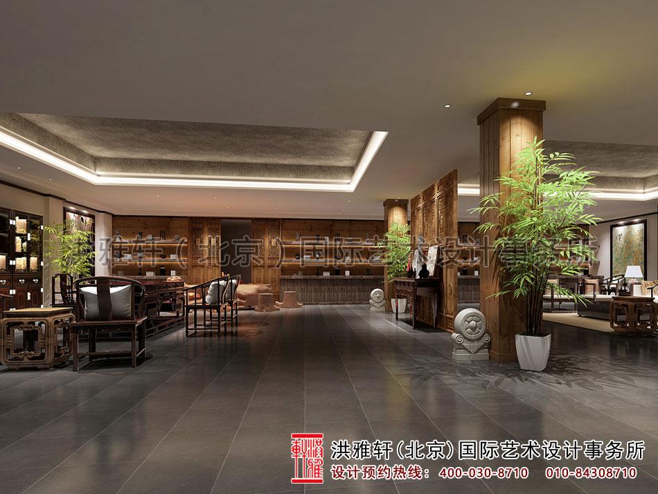 茶楼设计之大厅效果图