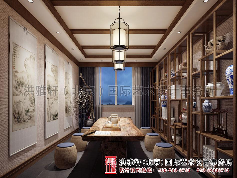 茶楼设计之茶室效果图