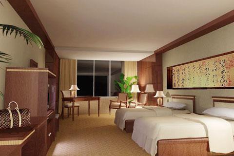 宾馆装修设计并不是简单的元素堆积