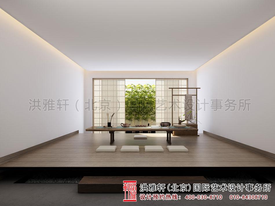 禅意茶楼设计之茶室效果图(四)
