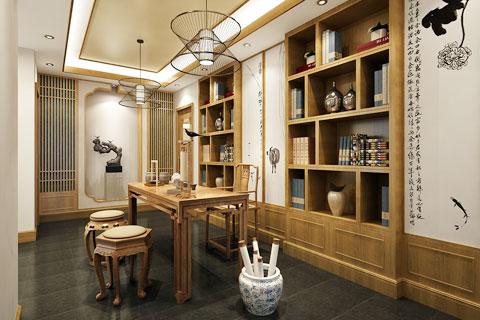 陕西西安茶楼禅意中式设计  一场茶与禅的邂逅