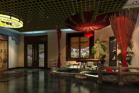 北京亚运村茶楼设计,凸显中国茶文化内涵