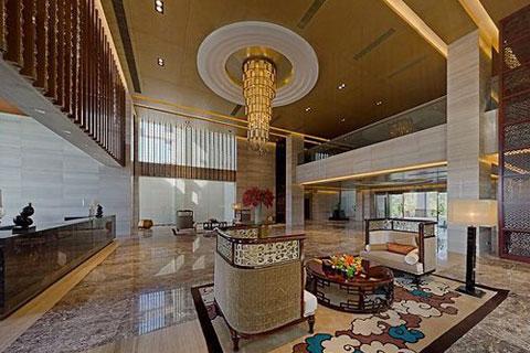 新中式风格的售楼处设计,既有传统韵味又具备时尚元素