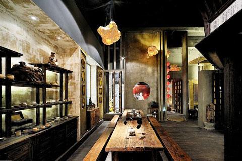 茶楼中式装修设计,体会庄重典雅的休闲空间