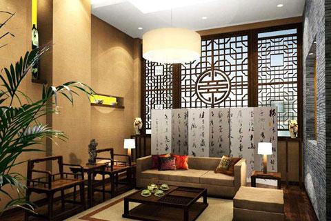 中式售楼处装修效果图,古韵意味浓厚