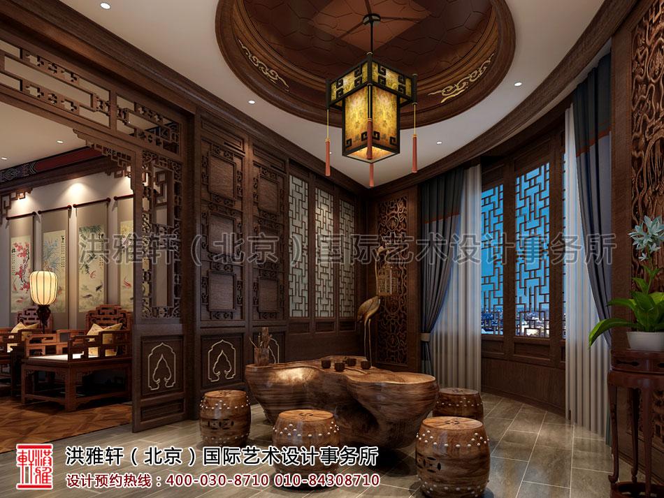 茶室古典中式装修北京茶楼