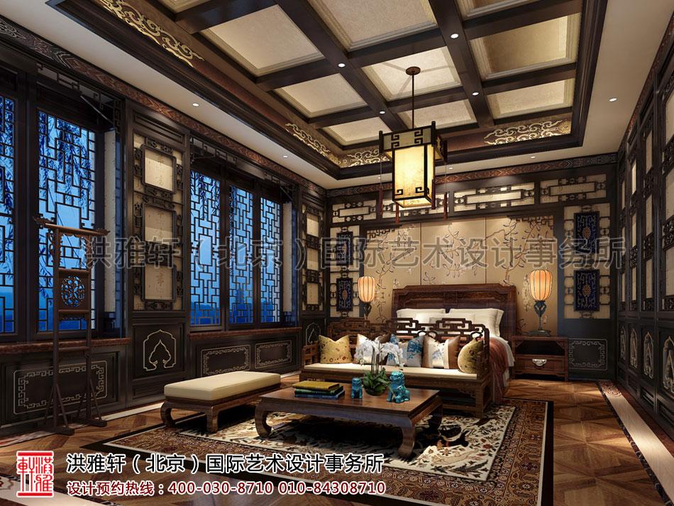休闲室茶楼古典中式装修