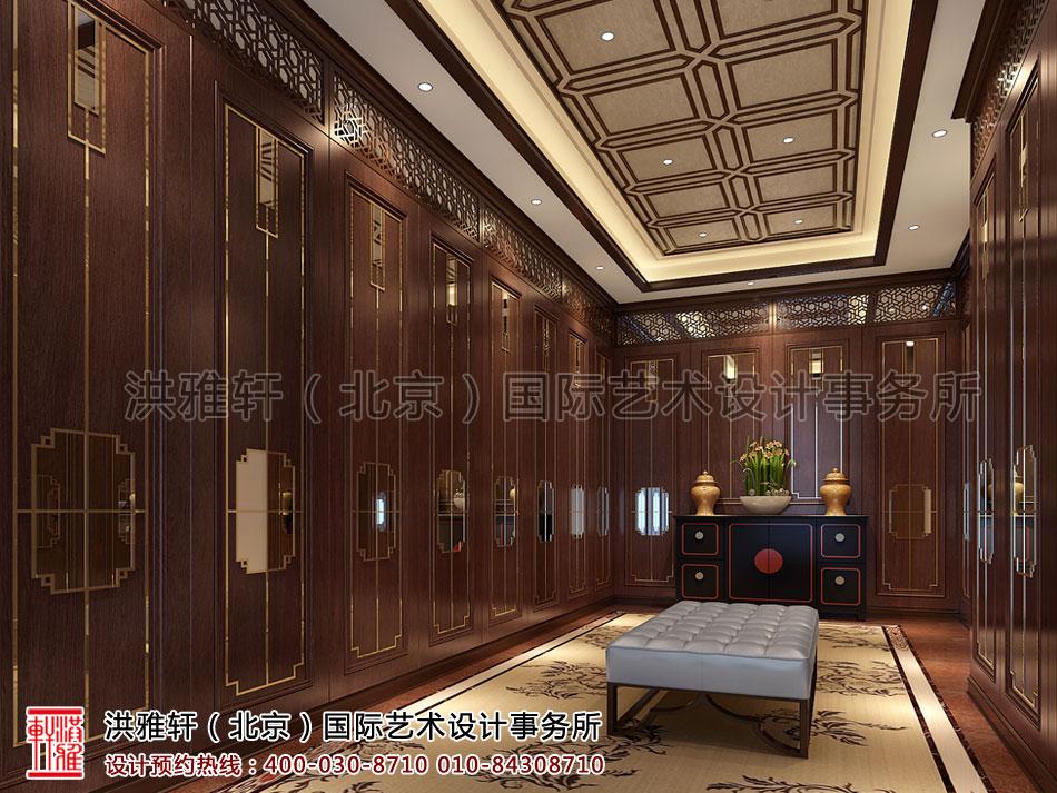 北京茶楼古典中式装修储茶室