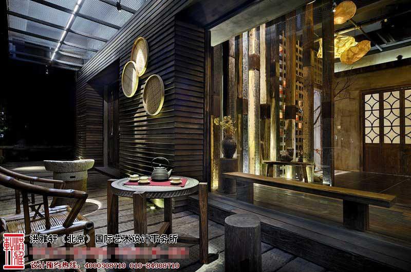 庭院茶楼中式装修图片