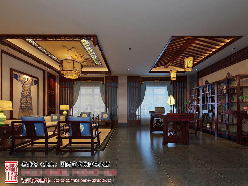 茶楼中式设计
