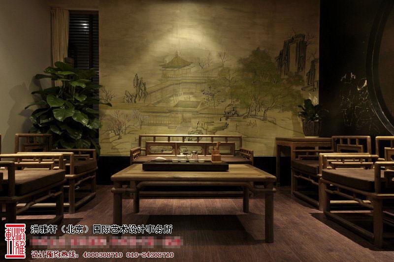 中式风格展厅设计效果图3.jpg