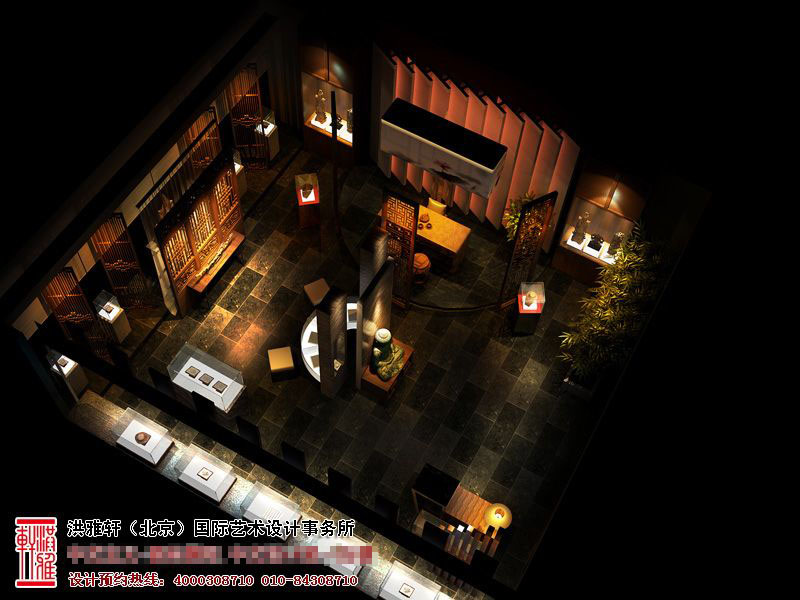 展厅中式装修设计效果图5.jpg
