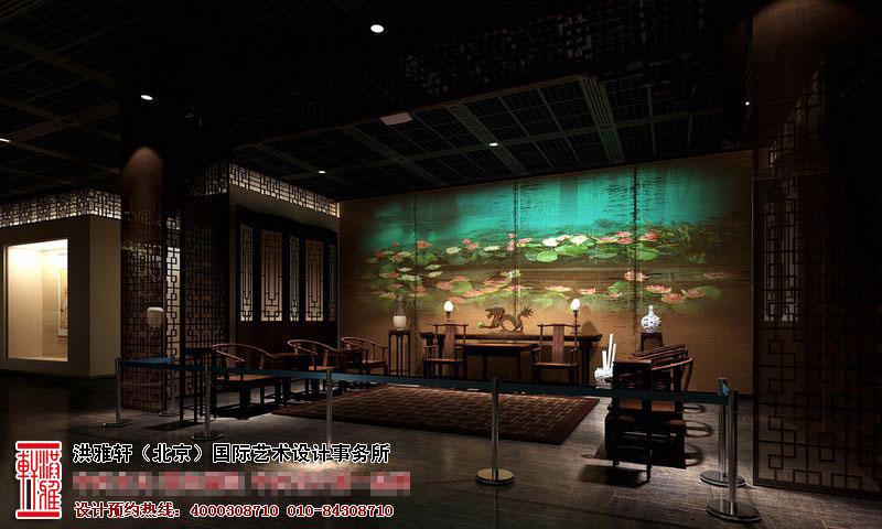 古典风格展厅设计效果图4.jpg