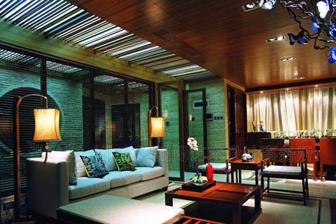 新中式装修客厅设计图