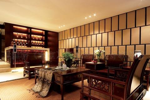 古典中式风格客厅设计效果图