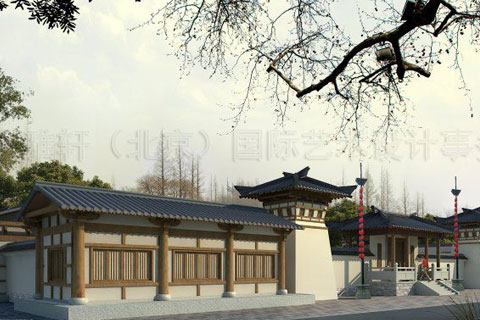 寺庙装修效果图