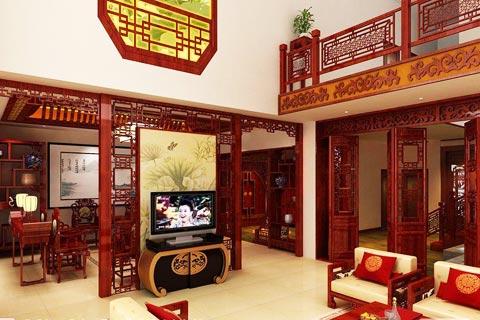 古典客厅装修设计图片