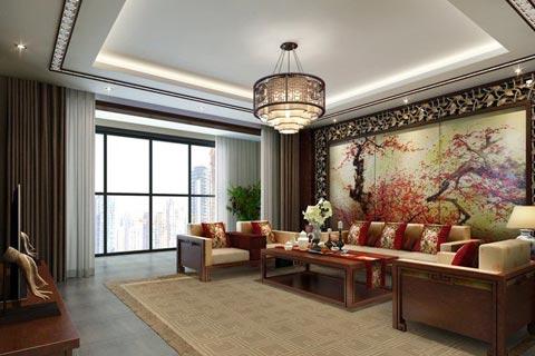 中式古典客厅图片