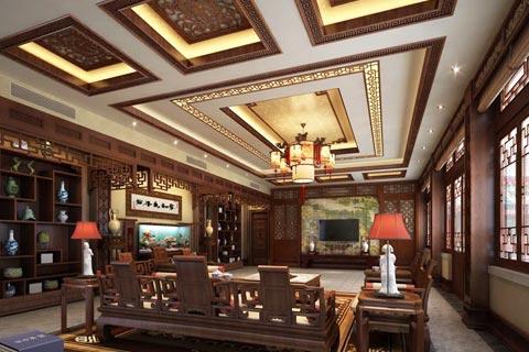 最新最全的四合院客厅装修图片