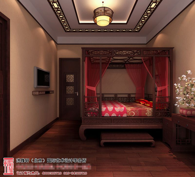 中式酒店装修效果图6.jpg