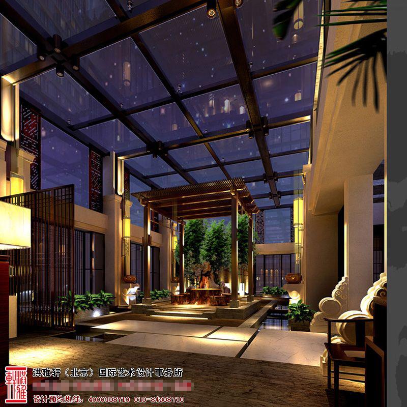 新中式风格餐厅装修效果图1.jpg