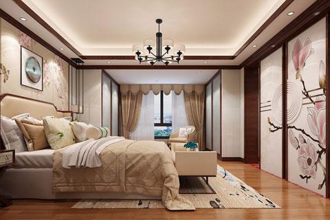 新中式别墅装修效果图 古典贵气之美打造现代经典家居
