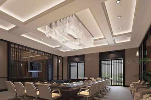 中式风格高级会所装修图