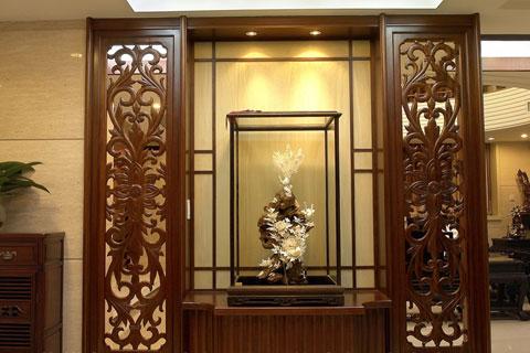 中式古典玄关装修图片