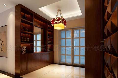 最新中式风格酒柜设计图片