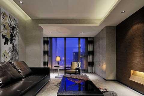 中式风格客厅装修设计图片欣赏