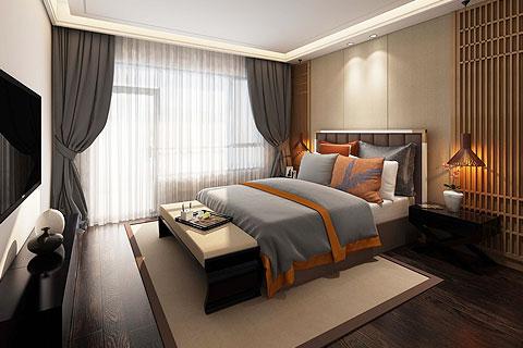 复式楼中式装修效果图 禅意风格新中式家居设计图赏析