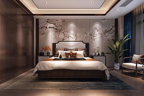 新中式别墅装修效果图 新中式设计别墅装修图片赏析
