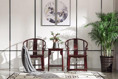 中式家装空间新中式家具陈设布置效果图欣赏