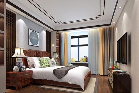 卧室中式风格装修效果图集锦(五)