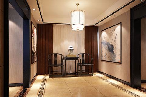 中式家装空间设计新中式风格装修效果图