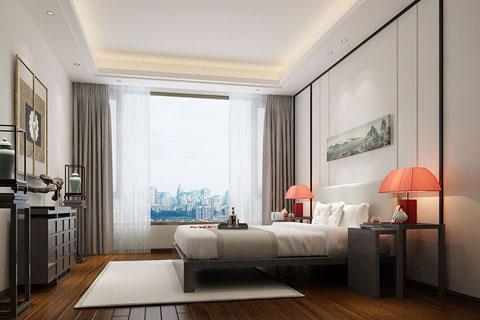 禅意风格新中式家装设计效果图 去繁取简