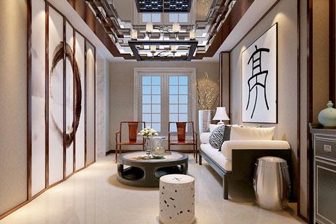多种中式风格的茶室中式设计效果图