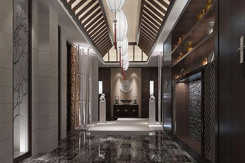 中式风格过道装修设计效果图欣赏