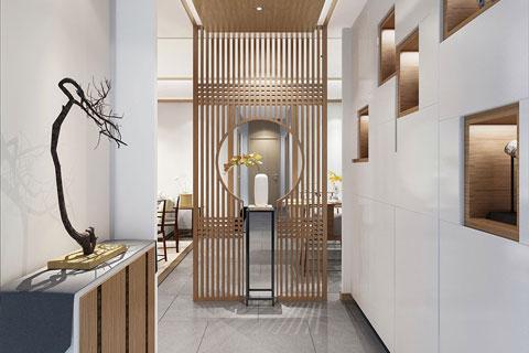 禅茶一味 中式家装设计禅意风格简约装修效果图