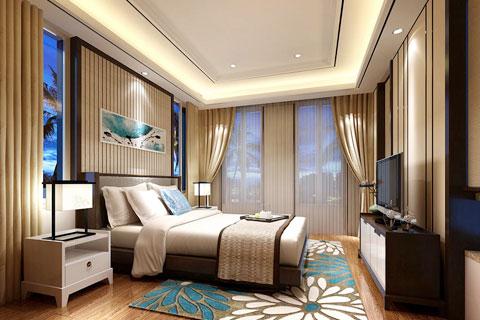 卧室中式风格装修效果图集锦(六)