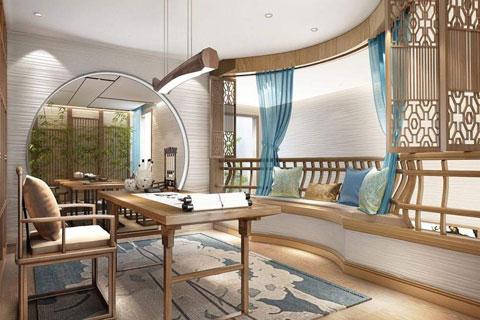 新中式风格家装设计之客厅中式装修效果图欣赏