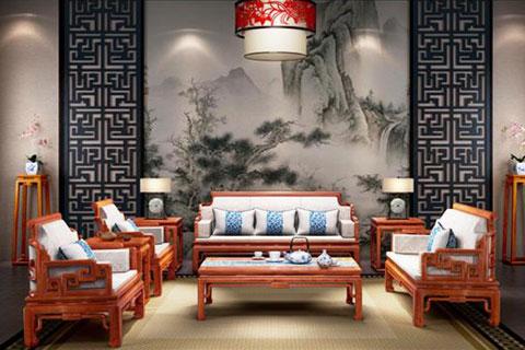 中式古典红木家具|素雅清简古意深,博雅风姿展古今