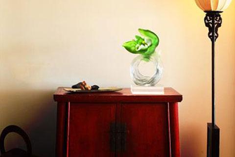 琉璃中式摆件|一剪澄澈之姿,一抹古典之韵