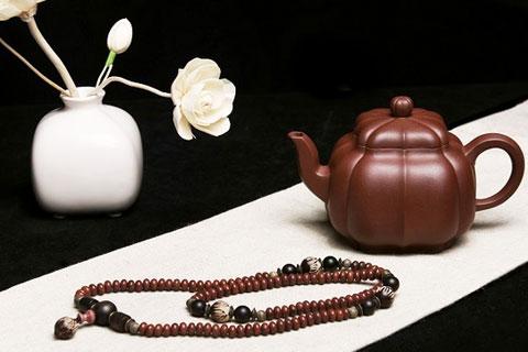 中式茶室紫砂茶器之美——文风飘逸,荡气回肠