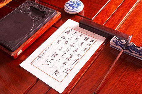 中式书房文房四宝  书香墨色浸染的古典之境