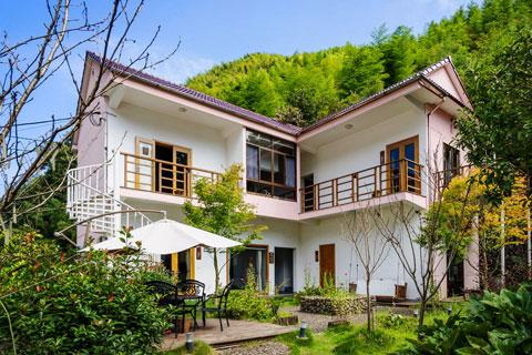 天津小型特色民宿装修设计案例 不一样的异域风情