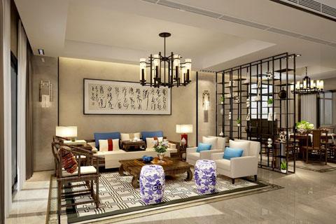 别墅客厅装修效果图 别墅室内设计图片大全