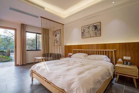 简约中式风格最美民宿设计效果图 民宿室内设计方案