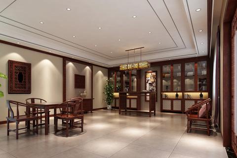 古典中式风格四合院装修效果图 四合院家装设计方案