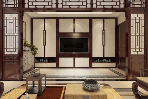 北京平谷别墅装修设计方案 新而不洋中而不古的设计风格
